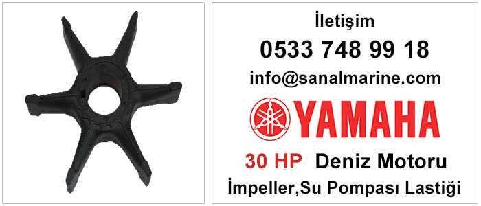 Yamaha 30 HP Deniz Motoru İmpeller Su Pompası Lastiği