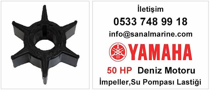 Yamaha 50 HP Deniz Motoru İmpeller Su Pompası Lastiği