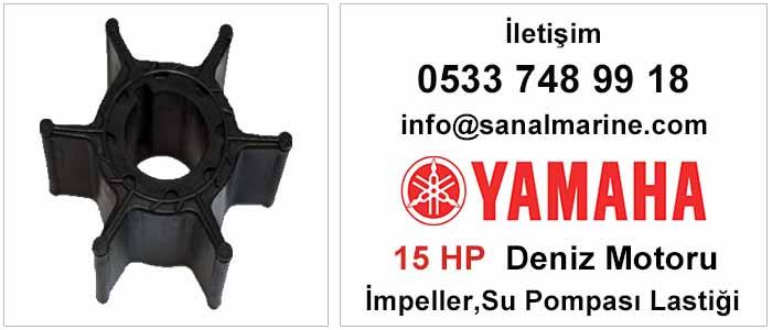 Yamaha 15 HP Deniz Motoru İmpeller Su Pompası Lastiği