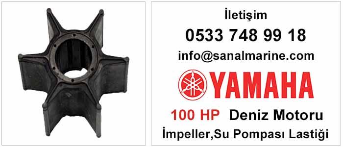 Yamaha 100 HP Deniz Motoru İmpeller Su Pompası Lastiği