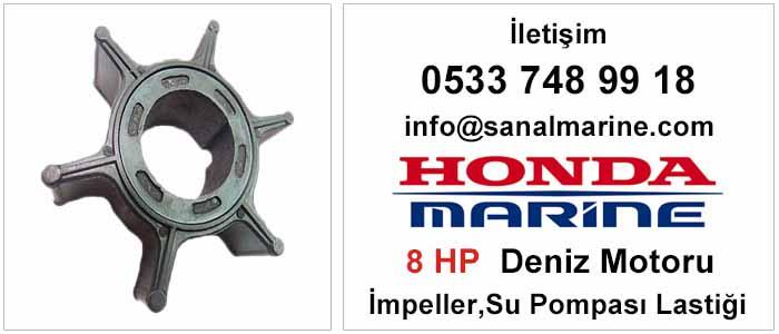 Honda 8 HP Deniz Motoru İmpeller Su Pompası Lastiği 500347