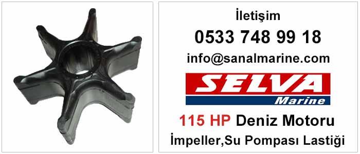 Selva 115 HP Deniz Motoru İmpeller Su Pompası Lastiği 500371