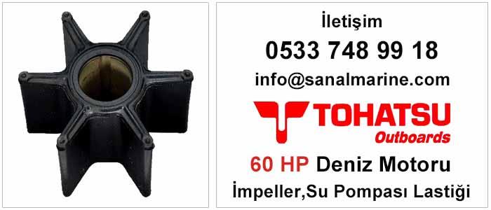 Tohatsu 60 HP Deniz Motoru İmpeller Su Pompası Lastiği 500388