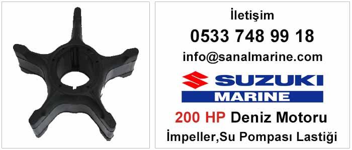 Suzuki 200 HP Deniz Motoru İmpeller Su Pompası Lastiği