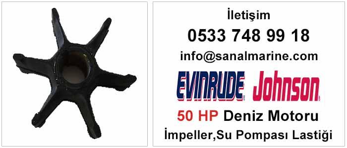 Evinrude - Johnson 50 HP Deniz Motoru İmpeller Su Pompası Lastiği 500352