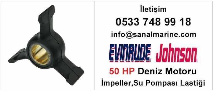 Evinrude - Johnson 50 HP Deniz Motoru İmpeller Su Pompası Lastiği 500372