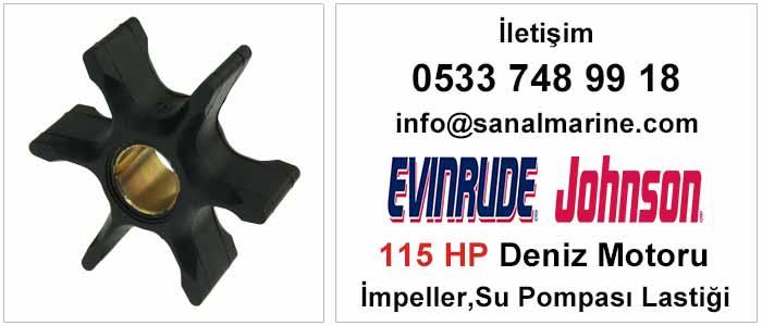 Evinrude - Johnson 115 HP Deniz Motoru İmpeller Su Pompası Lastiği 500305