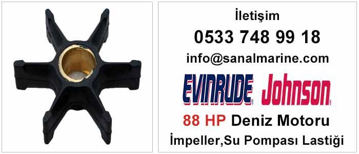 Evinrude - Johnson 88 HP Deniz Motoru İmpeller Su Pompası Lastiği 500308