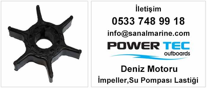 Powertec Deniz Motoru İmpeller Su Pompası Lastiği Fiyat Listesi
