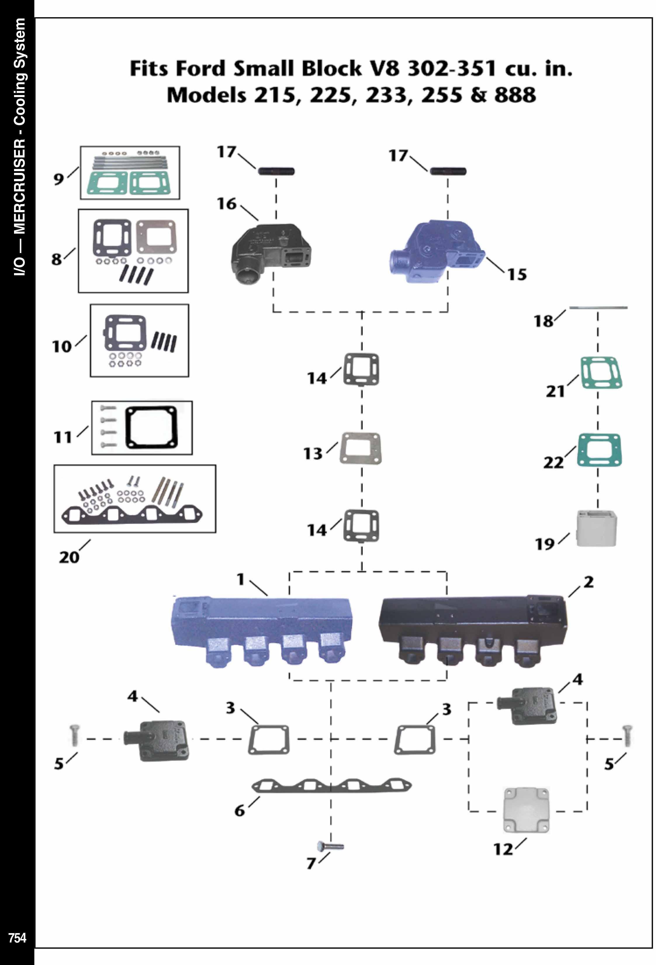 Mercruiser Soğutma Sistem Parçaları