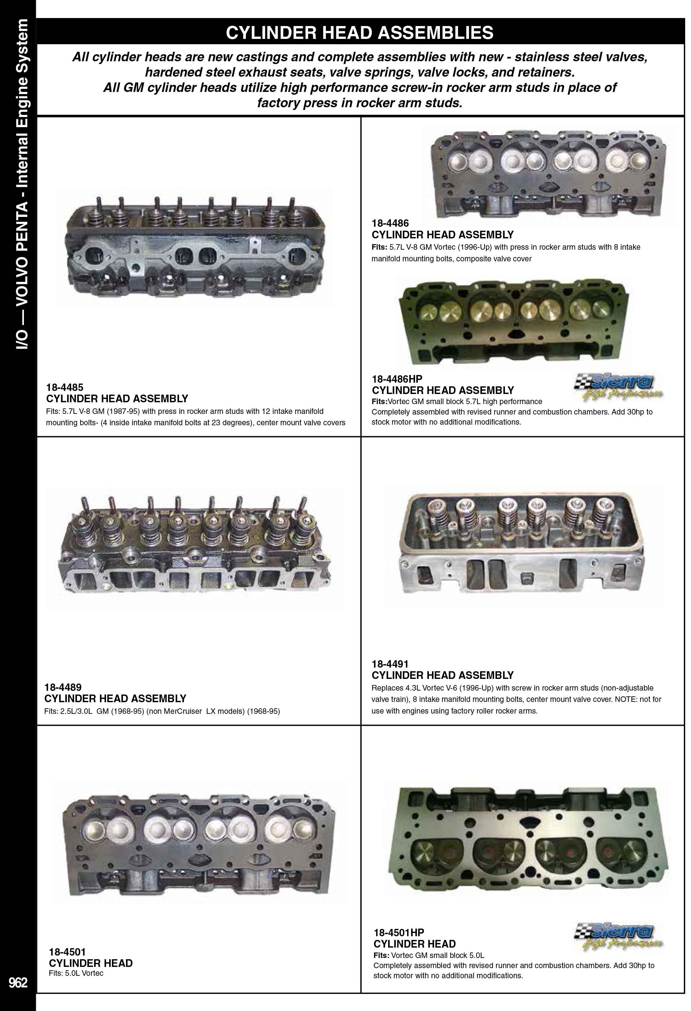 Volvo Penta İnternal Motor Parçaları